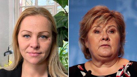 Eivor Evenrud fra Rødt mener de nye korona-restriksjonene som ble presentert av Erna Solberg søndag kveld skaper en del harme blant folk. Hun reagerer blant annet sterkt på at det ikke har vært obligatorisk testing ved grensen.