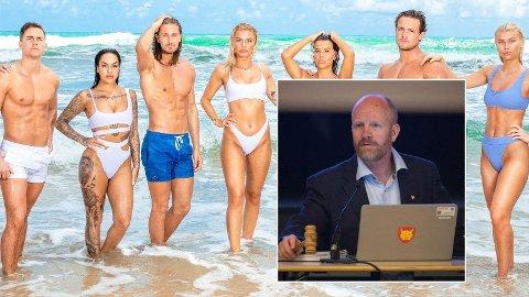 FØLER SEG LURT: Ordføreren i Hemsedal, Pål Terje Rørby, mener kommunen er blitt lurt og ført bak lyset av «Ex on the Beach»-produksjonen.