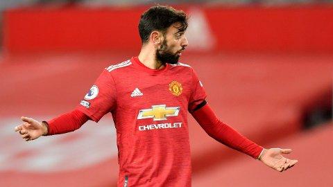 Vi tror Manchester United og Bruno Fernandes får problemer mot Manchester City onsdag.
