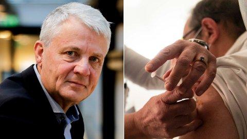 ADVARTE: Generalsekretær Dagfinn Høybråten i Kirkens Nødhjelp advarte mot en plan som ville sikret rike land vaksiner raskere.