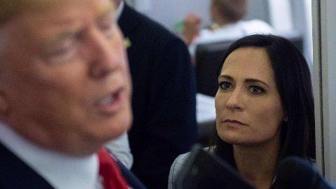 Stephanie Grisham har tidligere vært pressesekretær i Det hvite hus.