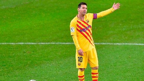 KOBLES BORT: Lionel Messi kan være ferdig i Barcelona allerede til sommeren.