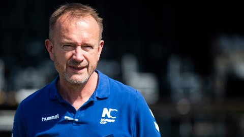 RYSTET: Generalsekretær Pål Trælvik i Norway Cup.