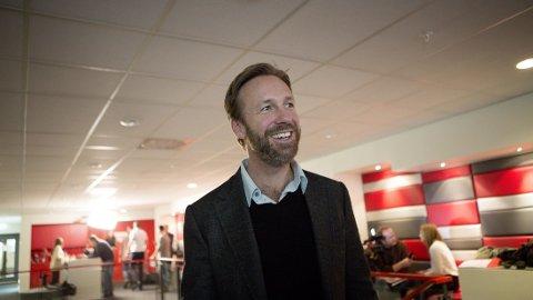 GODE TALL: Thomas Giertsen har all grunn til å smile om dagen.