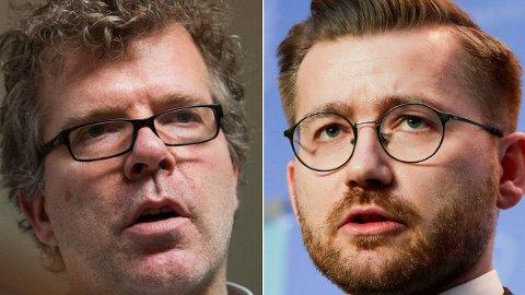 INGEN TALL: Kommentator Jon Hustad refser klimaminister Sveinung Rotevatn og regjeringen for å ikke klare å beregne kostnadene ved klimapolitikken.