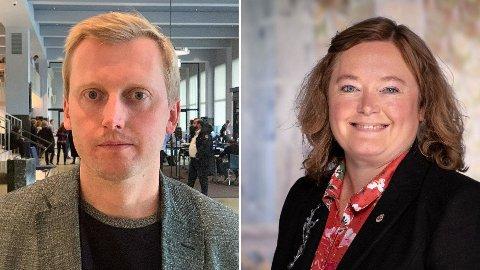 LEDERSKIFTE: Anne Haabeth Rygg erstatter Øystein Sundelin som leder av Oslo Høyres bystyregruppe.