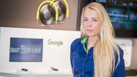 MAKS-ANTALL: - Da kunden kom til butikken for å kjøpe hadde vi allerede solgt over maksimumsantallet, og når det skjer, blir annonsekampanjen «skrudd av digitalt», sier kommunikasjonssjef Madeleine Schøyen Bergly i Elkjøp.