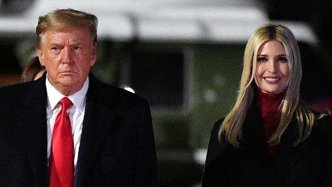 Ifølge Daily Mail skal Ivanka Trump når være svært opptatt å gjøre alt hun kan for å redde ansikt og redde sin eventuelle fremtidige politiske karriere.