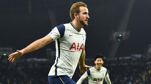 Harry Kane har scoret fem mål på tre kamper mot Fulham.