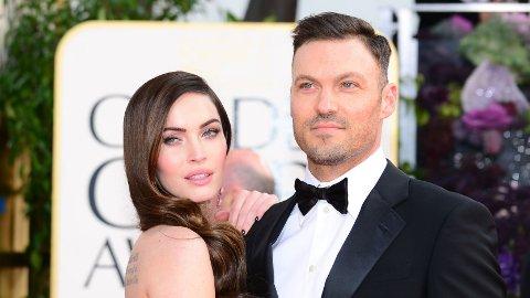Brian Austin Green har funnet lykken på ny etter skilsmissen. Her med ekskona Megan Fox.