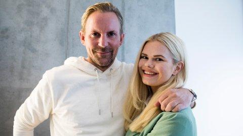 TOBARNSFORELDRE: Ulrik og Julianne Nygård er nå stolte foreldre til to sønner.