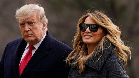 - Hvis de siste ukene har bevist noe, er det at Melania Trump er mer på linje med presidenten enn de fleste ville anta, skriver CNN.
