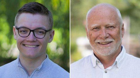 Timo Nikolaisen (t.v.) og Ole Andreas Lilloe-Olsen.