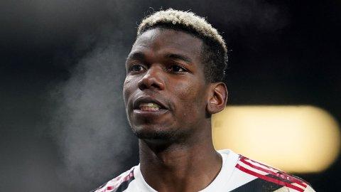 Manchester Uniteds Paul Pogba under Premier League-kampen mot Burnley tidligere denne uken.