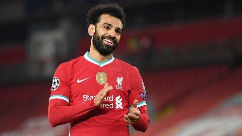 Mohamed Salah er toppscorer i Premier League.