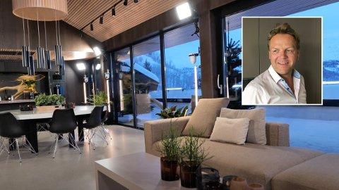 LEIER UT: Kjetil Bjørnberg eier hytta der innspillingen av «Ex on the Beach - Afterski» finner sted.