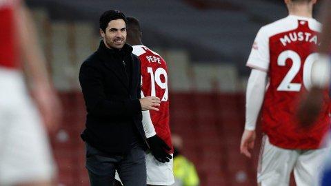 Arsenal-manager Mikel Arteta er fornød med at laget er mer solide bakover.
