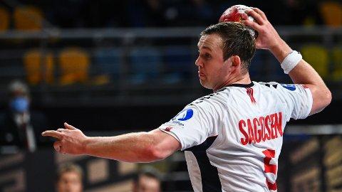 Sander Sagosen er toppscorer i VM med 30 mål på de tre første kampene.