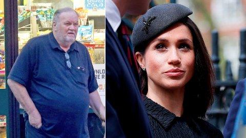 ISFRONT: Faren til Hertuginnen av Sussex, Meghan Markle, beskylder datterens venner for løgn.