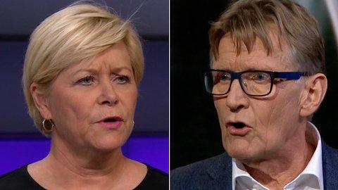 FARLIG: Legen og tidliger Rødt-politiker Mads Gilbert fyrte løs mot opposisjonen i Stortinget.