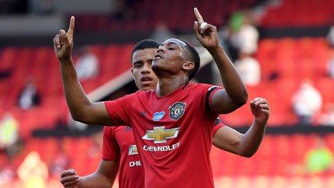 Anthony Martial scoret alle tre målene for Manchester United da de slo Sheffield United 3-0 hjemme på Old Trafford i fjor sommer. I kveld er United blytunge favoritter når de tar imot Sheffield United.