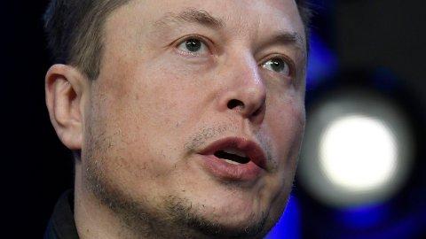 LEGGER FRAM TALL: Elon Musk, Tesla-sjef og verdens rikeste mann.