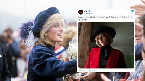 NY ROLLE: Kristen Stewart skal spille prinsesse Diana i en ny film om hennes liv.