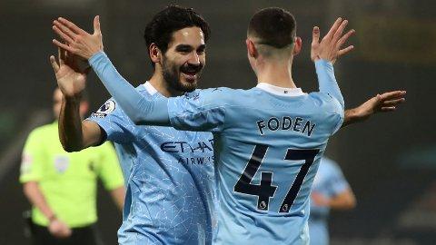 Ilkay Gundogan og Phil Foden har vært to av Manchester Citys beste spillere den siste tiden.