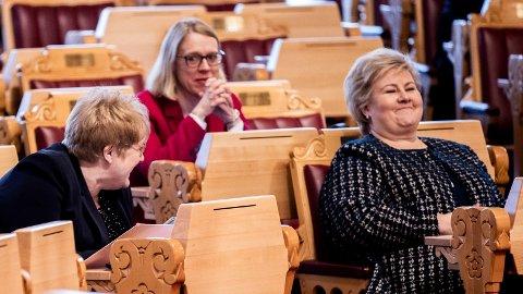 – Å bruke militærmakt for å kontrollere innbyggerne er i utgangspunktet forbudt etter Grunnloven, påpeker Anniken Huitfeldt.