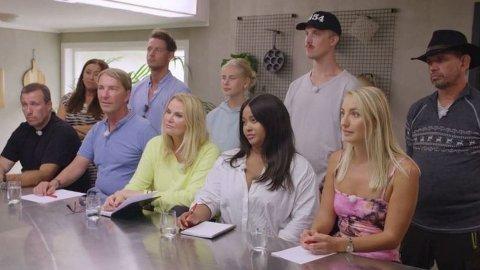 KLIPPET UT SEX-SCENER: Produksjonen har måttet klippe ut scener fra årets«Camp Kulinaris». Blant annet en sex-scene mellom to av deltakerne.
