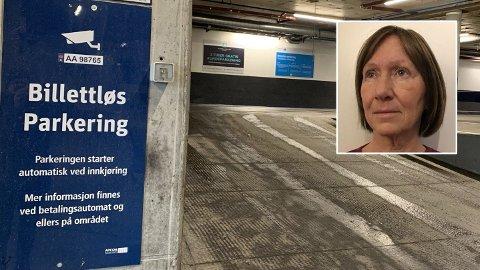 IRRITERT: - Det virker som om de vil at folk ikke skal få betalt, sier Sissel Ødegaard, som har opplved mye kluss og uforholdsmessig høye fakturagebyr fra Apcoa Parking.