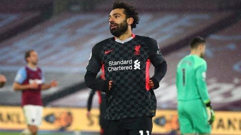 Mohamed Salah har scoret fem mål og har fire målgivende på syv kamper mot Brighton.