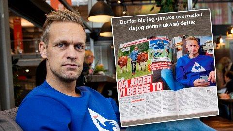 SER RØDT: Influenser Mads Hansen hevder Se og Hør farer med ren løgn i en stor reportasje om han selv - en reportasje som han selv ikke har medvirket til.