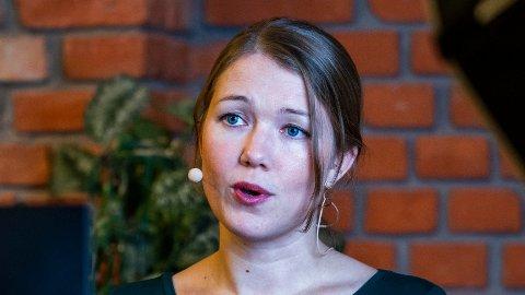 - Et Senterparti på 20 prosent må ta ansvar, også i klimapolitikken, sier MDG-leder Une Aina Bastholm.