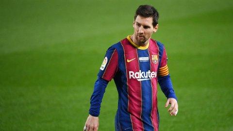 MOT BARCELONA-AVGANG? Lionel Messi ryktes stadig vekk bort fra Barcelona.