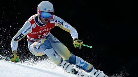 Kjetil Jansrud fant ikke godfølelsen i Garmisch Partenkirchen.