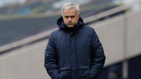 Jose Mourinhos Tottenham fungerer dårlig uten Harry Kane.