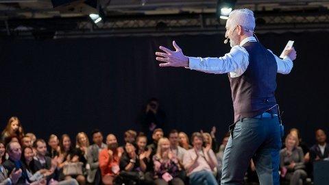 Malcolm Larri er en av Nordens fremste foredragholdere. Bli med på webinar 17. februar.