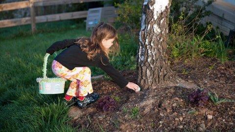 For mange barn er jakten på påskeegg det morsomste med påsken.