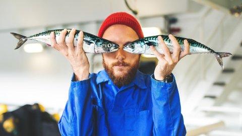 Det ble skikkelig fiskelykke for mannen på fiskebåt.