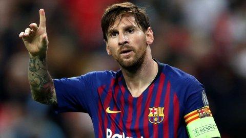 FRA START: Lionel Messi spiller fra start i storoppgjøret mot PSG.