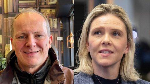 NY LEDER: Siv Jensen pekte på Sylvi Listhaug som hennes etterfølger, og Ketil Solvik-Olsen som 1. nestleder i partiet.