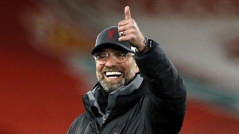 Jürgen Klopp har vært kritisk til at Liverpool har måttet spille tidlige lørdagskamper. I byderbyet mot Everton får han kveldskamp, og det er han nok glad for. Liverpool har en imponerende statistikk når de har spilt sene lørdagskamper.