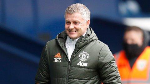 KAN SMILE: Ole Gunnar Solskjærs Manchester United tok tilbake andreplassen i Premier League etter seier over Newcastle.