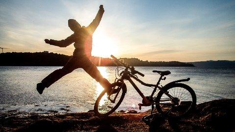 SESONG: Sykler har solgt ekstremt bra i koronatiden. Nå er det snart tid for å ta den fram fra sykkelboden igjen.