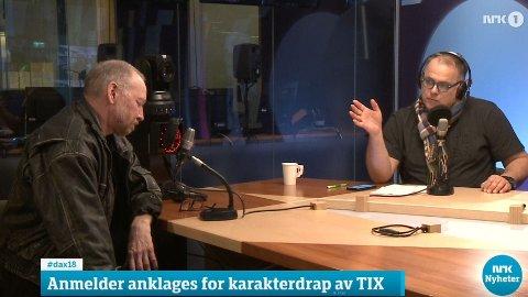 Det ble en opphetet debatt mellom Dagbladet-anmelder Anders Grønneberg og frilansjournalist Lasse Olsrud Evensen i Dagsnytt 18.