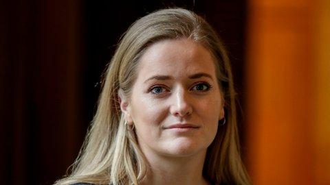KUTT: Senterpartiets Emilie Enger Mehl vil kutte de drøyt 5,7 milliarder kronene Norge deler ut gjennom EØS-midlene.