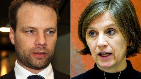 RETTIGHETER: Helsepolitisk talskvinne Kjersti Toppe foreslår å utvide helserettighetene for ulovlige innvandrere. Det får Frp til å steile.