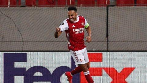 Pierre-Emerick Aubameyang ble tungen på vektskålen for Arsenal.