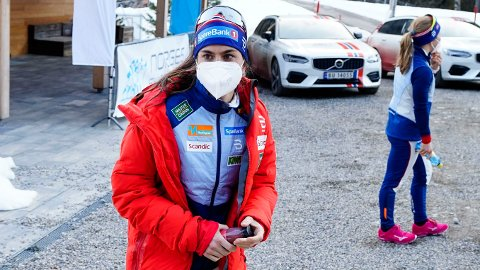 VM-KLAR: Heidi Weng skal i aksjon på lørdagens skiathlon i Oberstdorf.